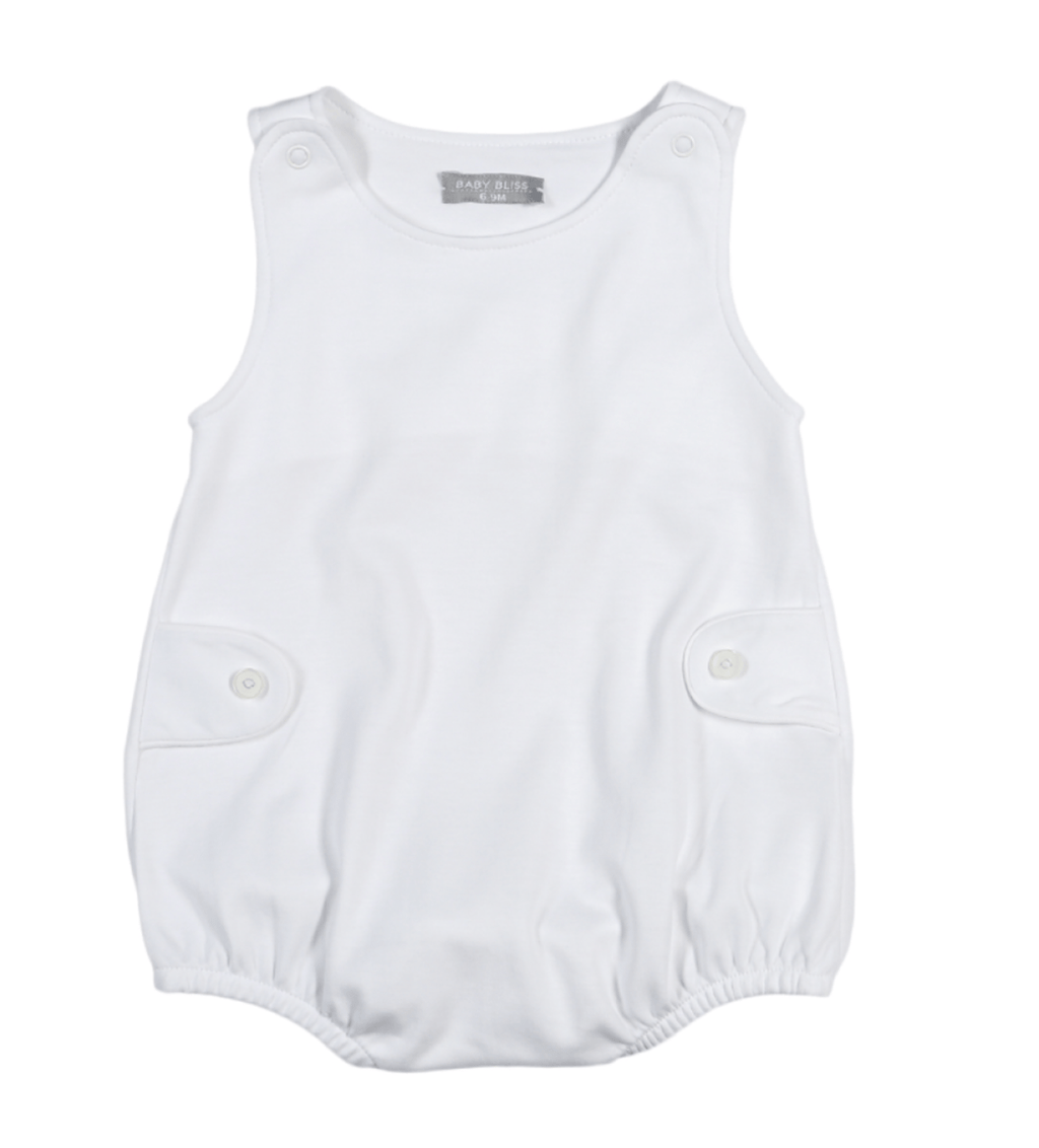 Baby Bliss White Pima Sun Bubble