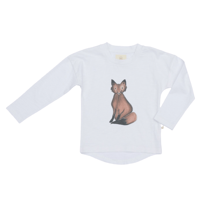 Charming Mary Flint Tee - Fox