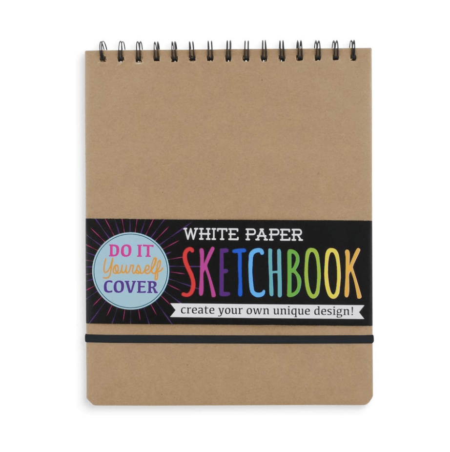 OOLY DIY Sketchbook - Large White Paper