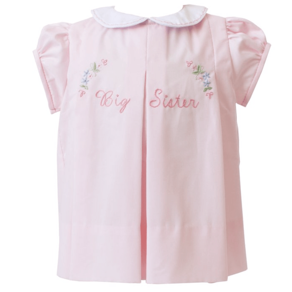 The Proper Peony Big Sister Pleat Dress - Pink