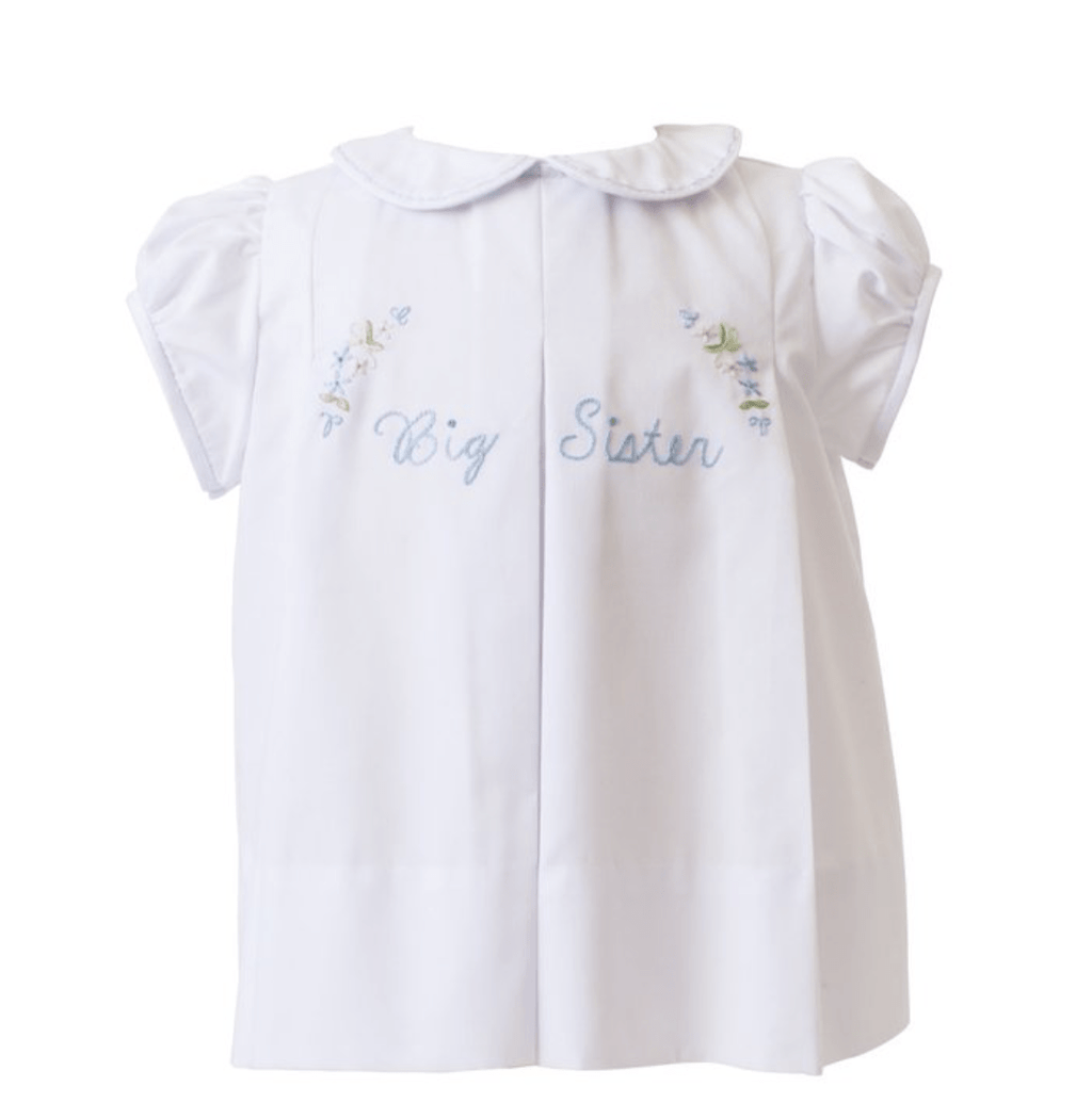 The Proper Peony Big Sister Pleat Dress - White