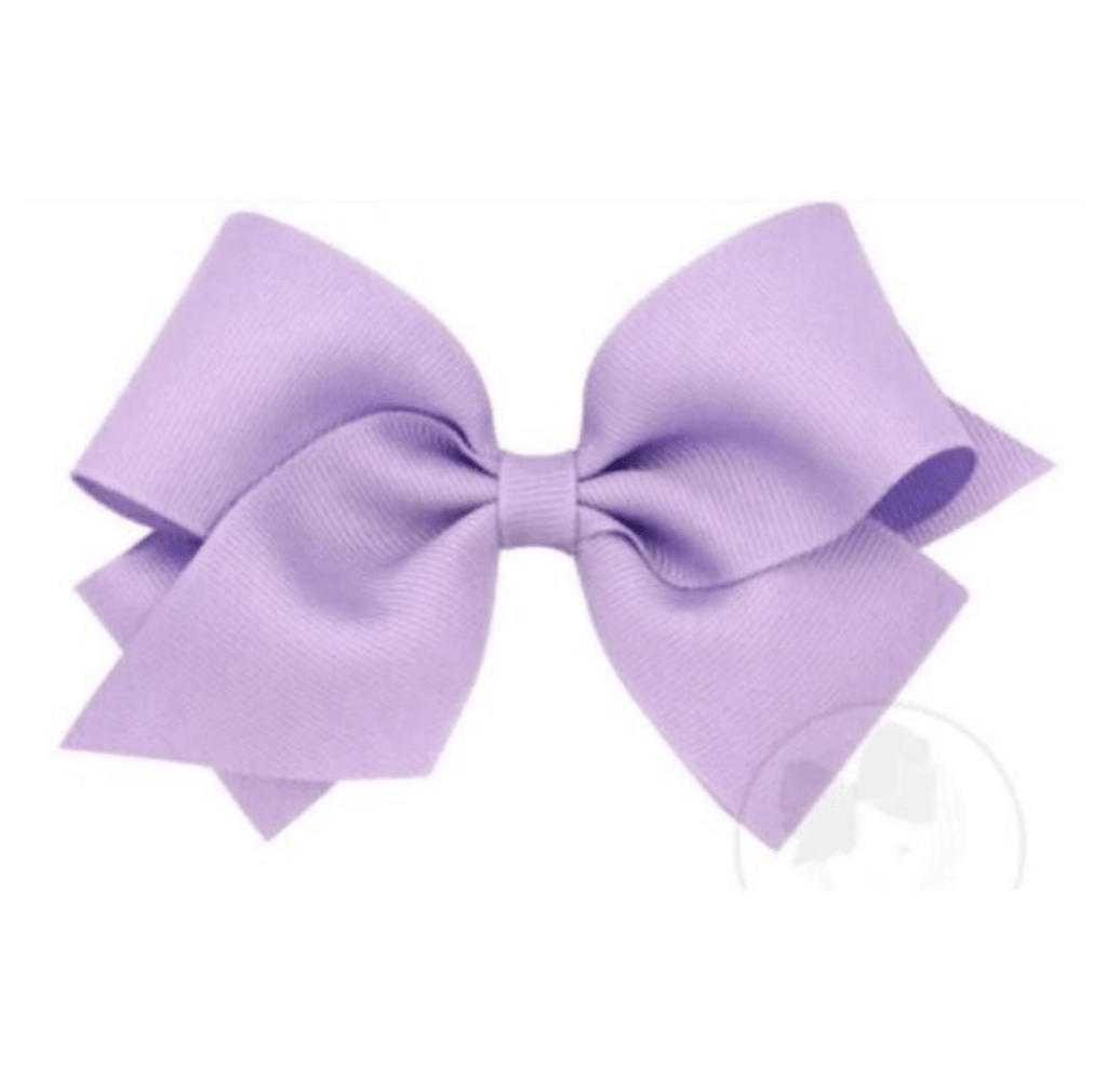 Wee Ones Light Orchid Bow