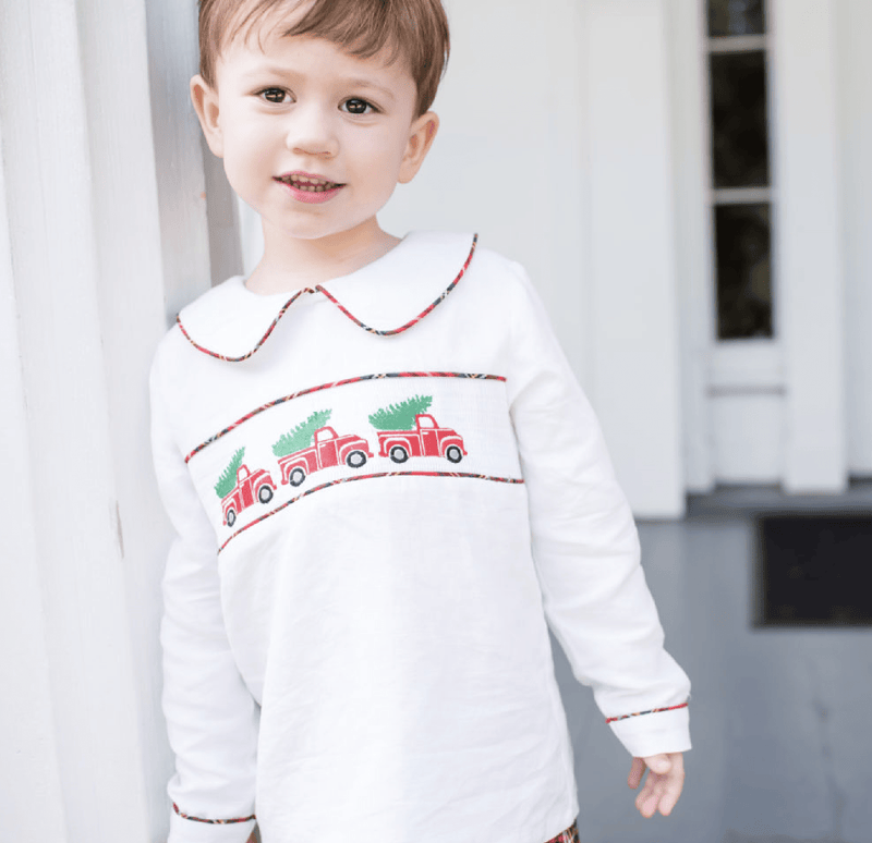 Southern Siblings A Cozy Christmas Plaid Short Set