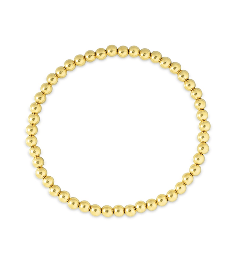leMel Everyday Stretch Bracelet - 4mm Yellow