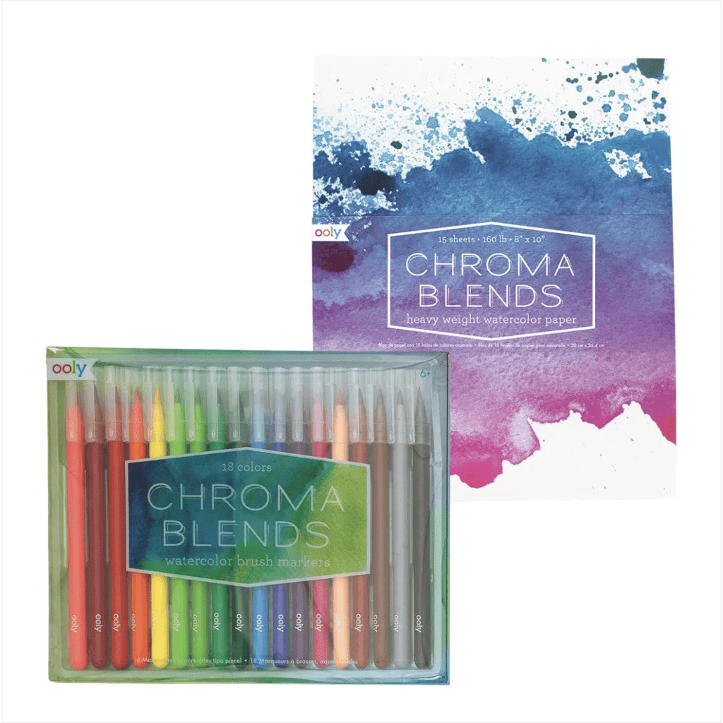 OOLY Chroma Blends Creative Sketch Giftables Pack