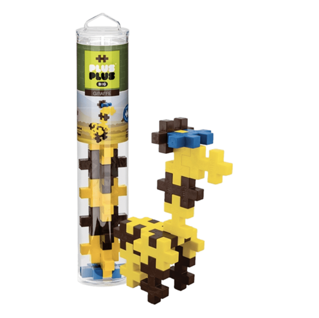 Plus Plus BIG Tube - Giraffe (15 PC)