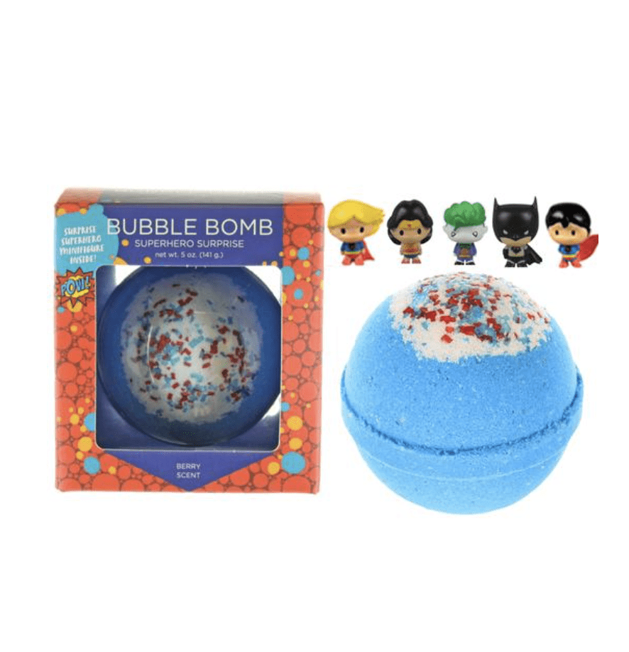 Two Sisters Superhero Surprise Bubble Bath Bomb