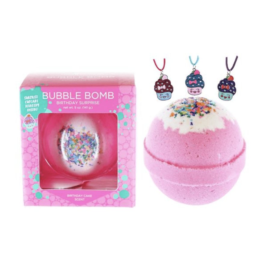 Two Sisters Birthday Surprise Bubble Bath Bomb