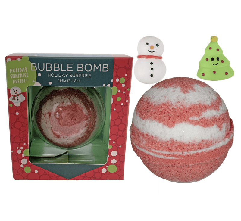 Two Sisters Christmas Squishy Surprise Bubble Bath Bomb
