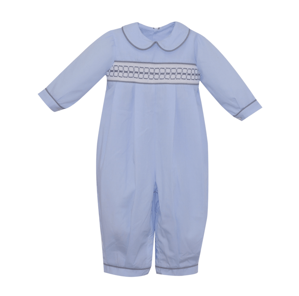 Lullaby Set Rover Pleated Romper - Amazing Grace