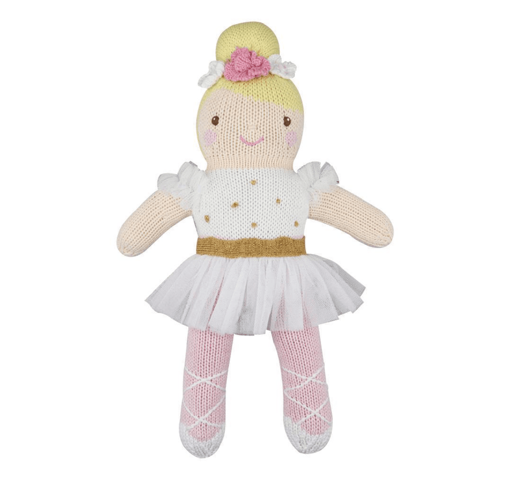 Zubels Knit Doll - Blakely the Ballerina
