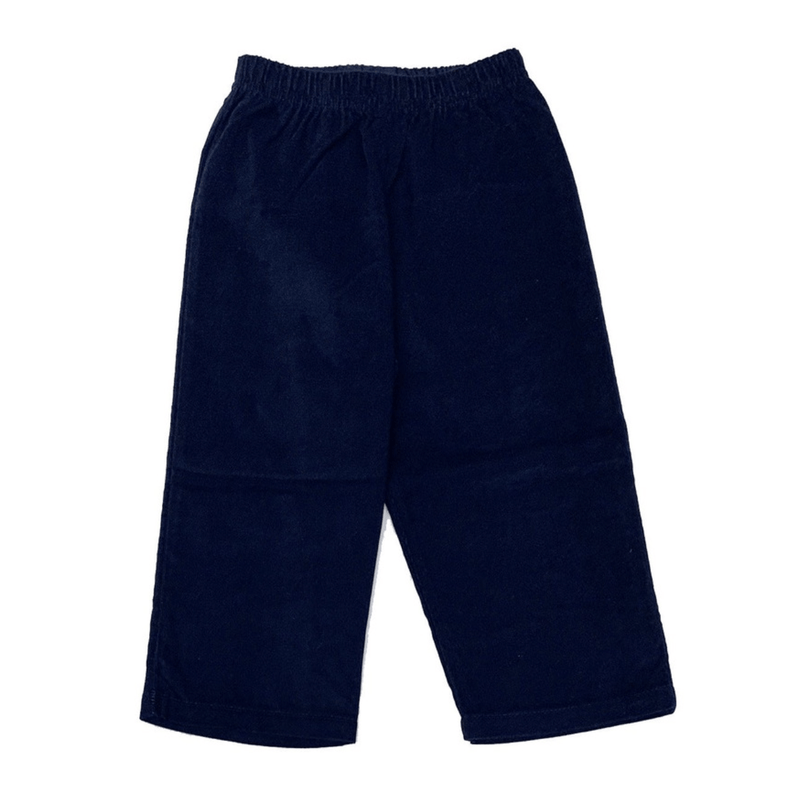 Luigi Kids Corduroy Pants - Navy