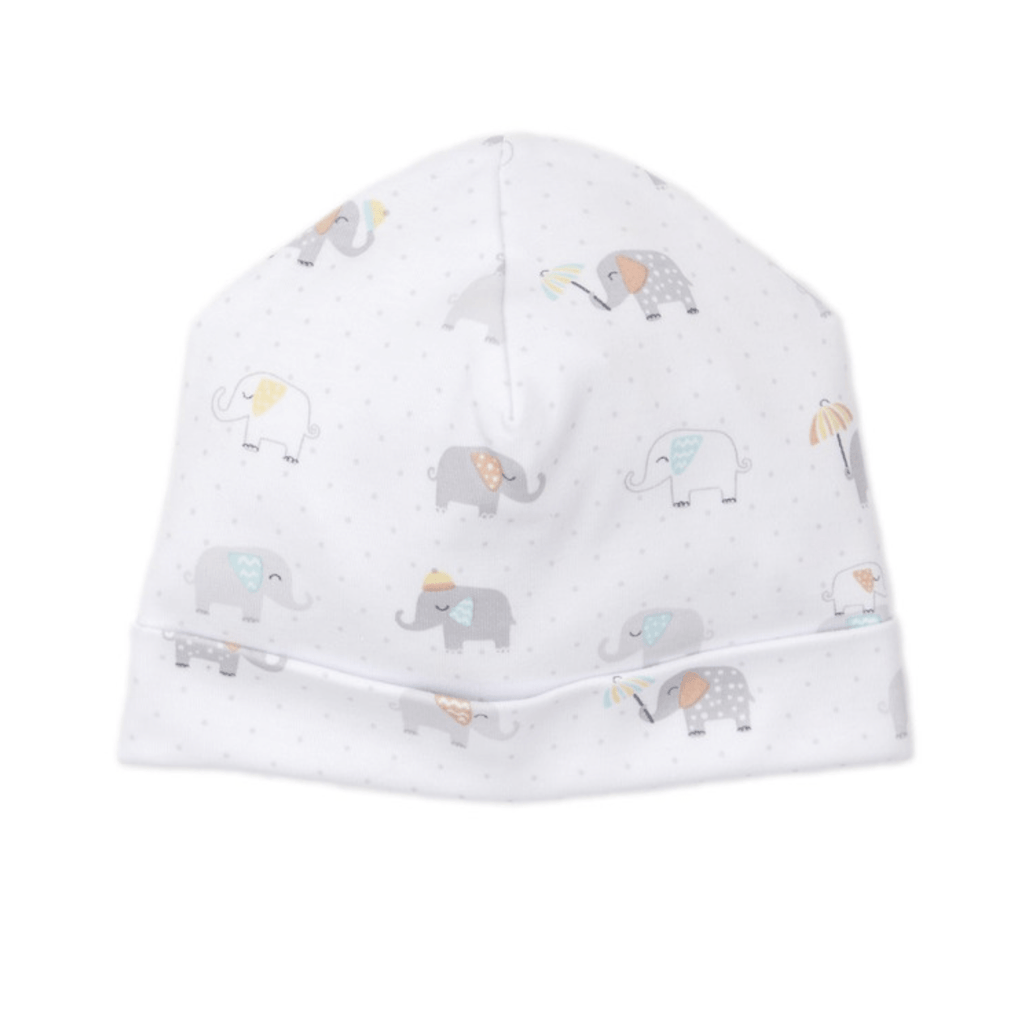 Kissy Kissy Printed Hat - Everyday Elephant (Newborn)