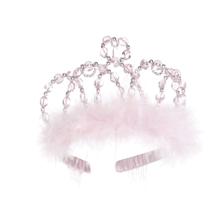 Great Pretenders Princess Tiara - Pink/Silver