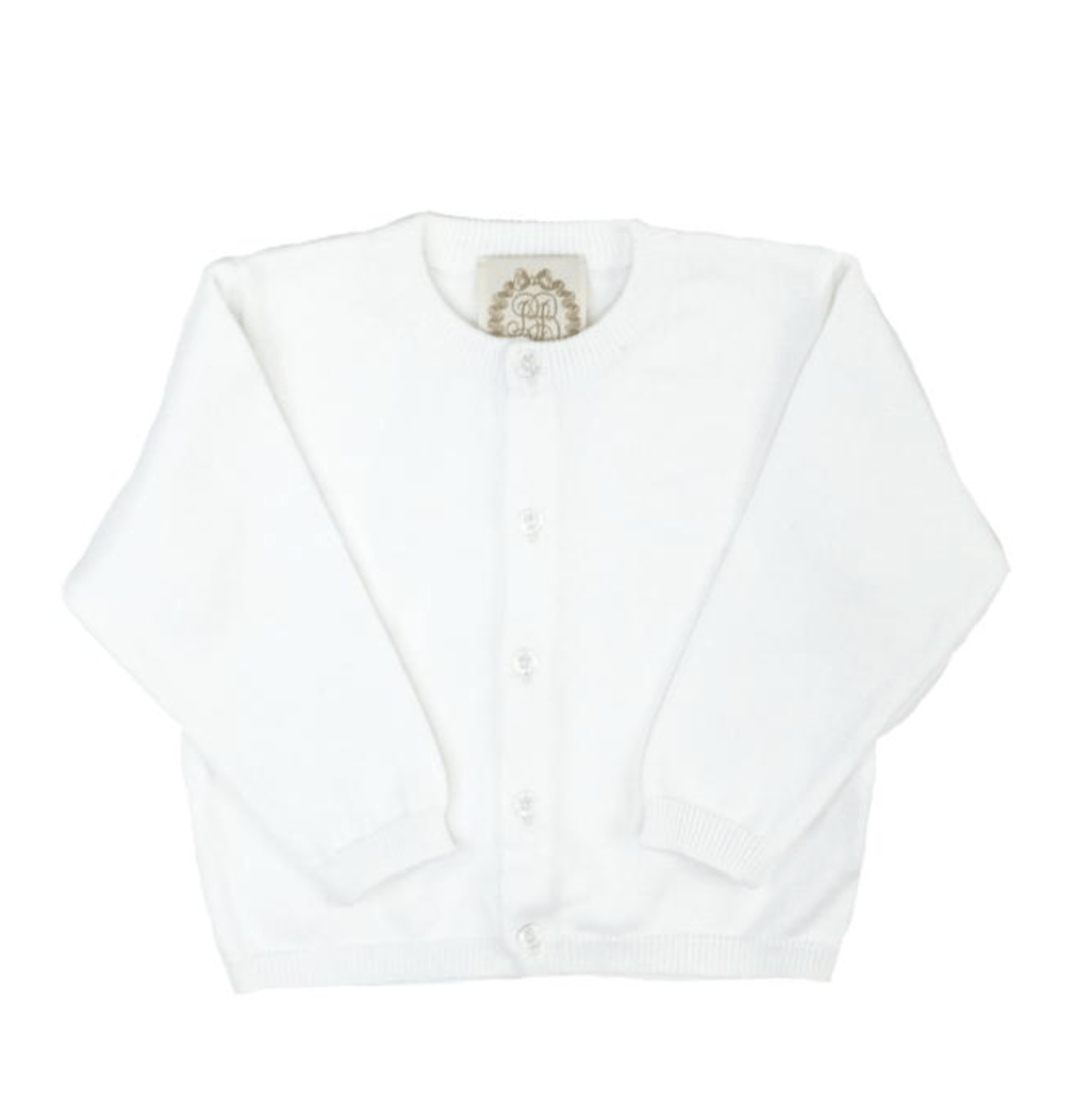 TBBC Cambridge Cardigan - White