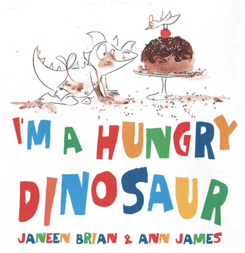 I'm A Hungry Dinosaur Book