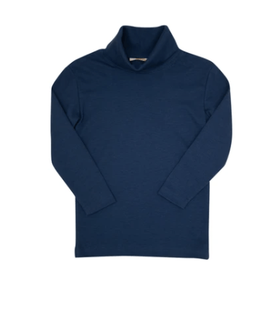 TBBC Tatum's Turtleneck Shirt Nantucket Navy