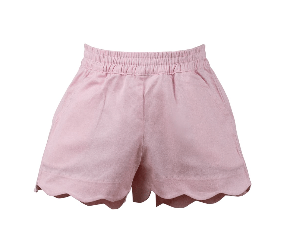 The Proper Peony Girl Scallop Shorts - Spring 2021 Classics (Multiple Colors)