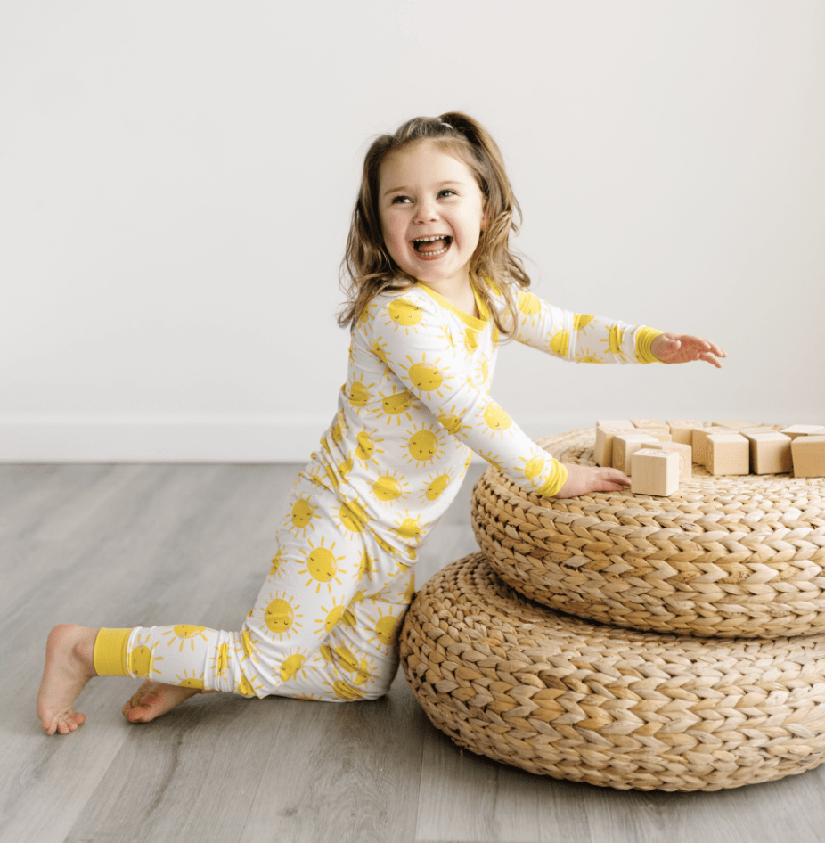 Little Sleepies Sunshine Pajama Set