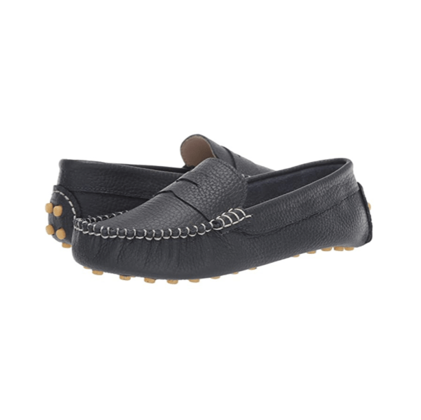 Elephantito Logan Moccasin - Navy Leather