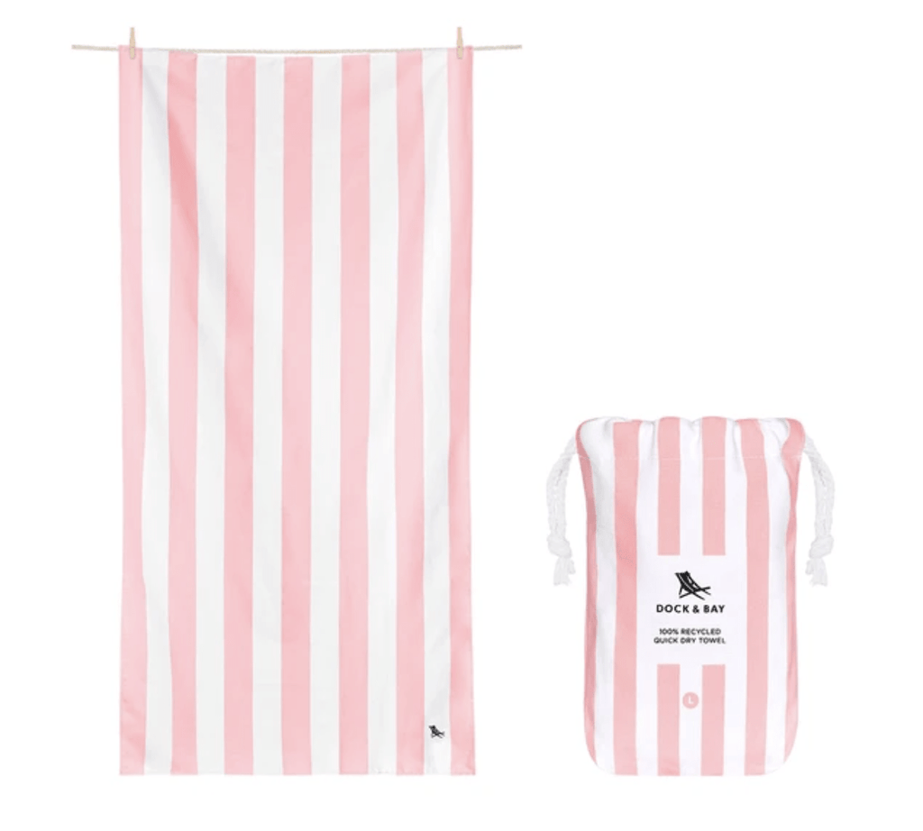 "Dock and Bay Extra Large (78x35"") Malibu Pink Towel"