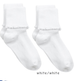 Jefferies Seamless Ripple Edge Turn Cuff Socks 2-Pack