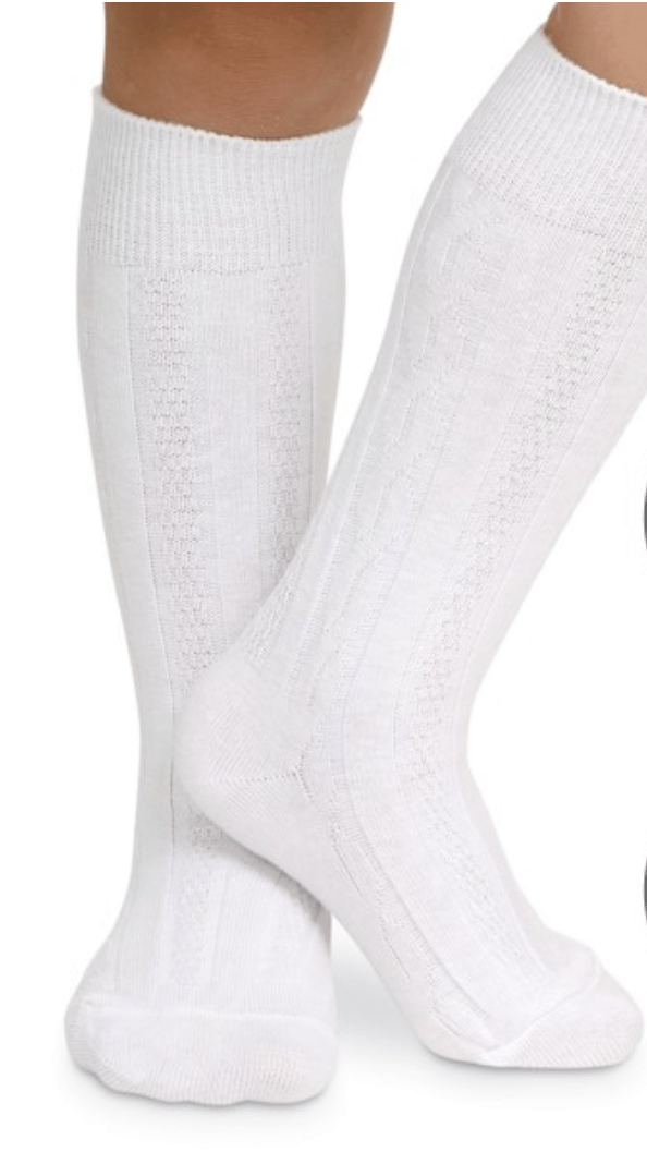 Jefferies Classic Cable Knee Socks