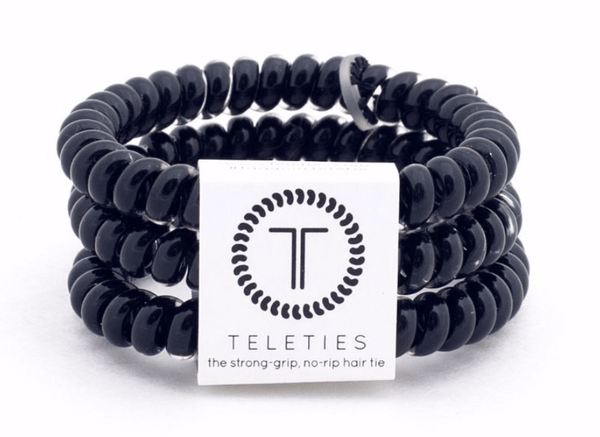 Teleties Jet Black 3-Pack