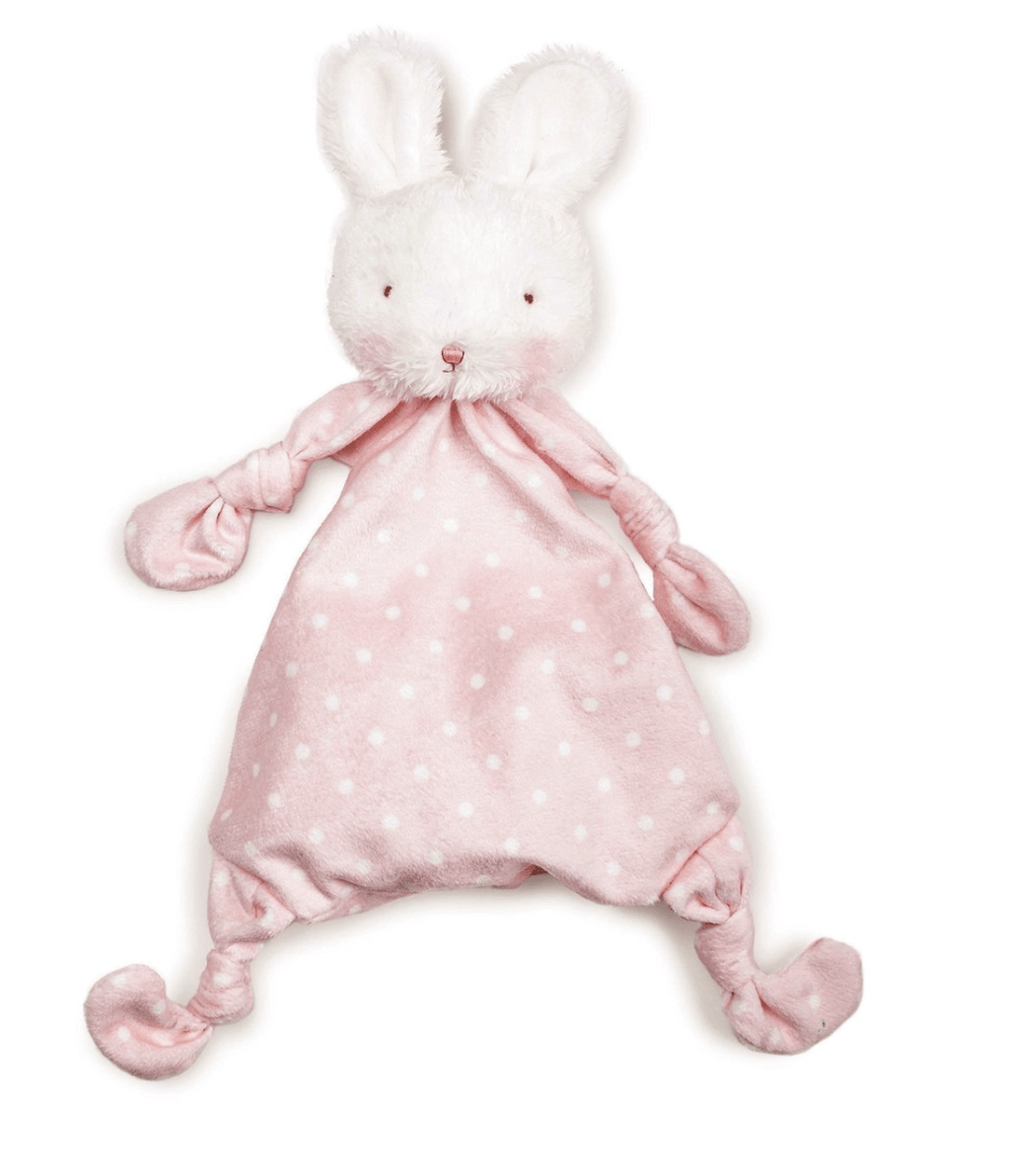 Bunnies By The Bay Blossom Bunny Knotty Friend- Pink