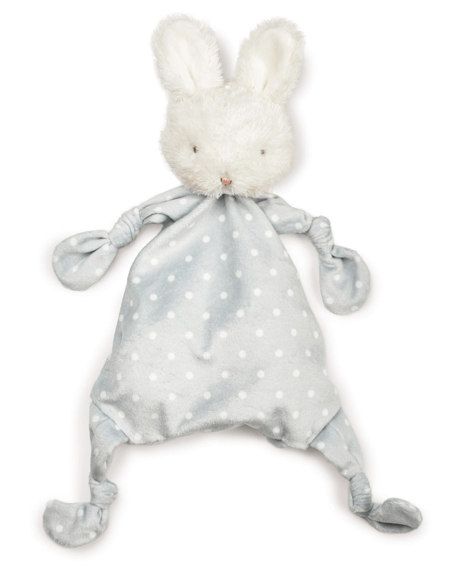 Bunnies By The Bay Bloom Bunny Knotty Friend- Gray