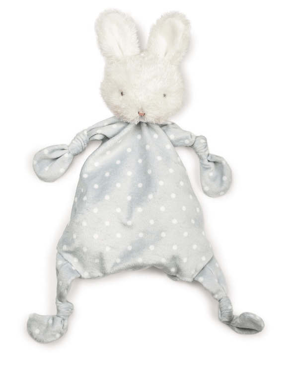 Bunnies By The Bay Blossom Bunny Knotty Friend- Gray
