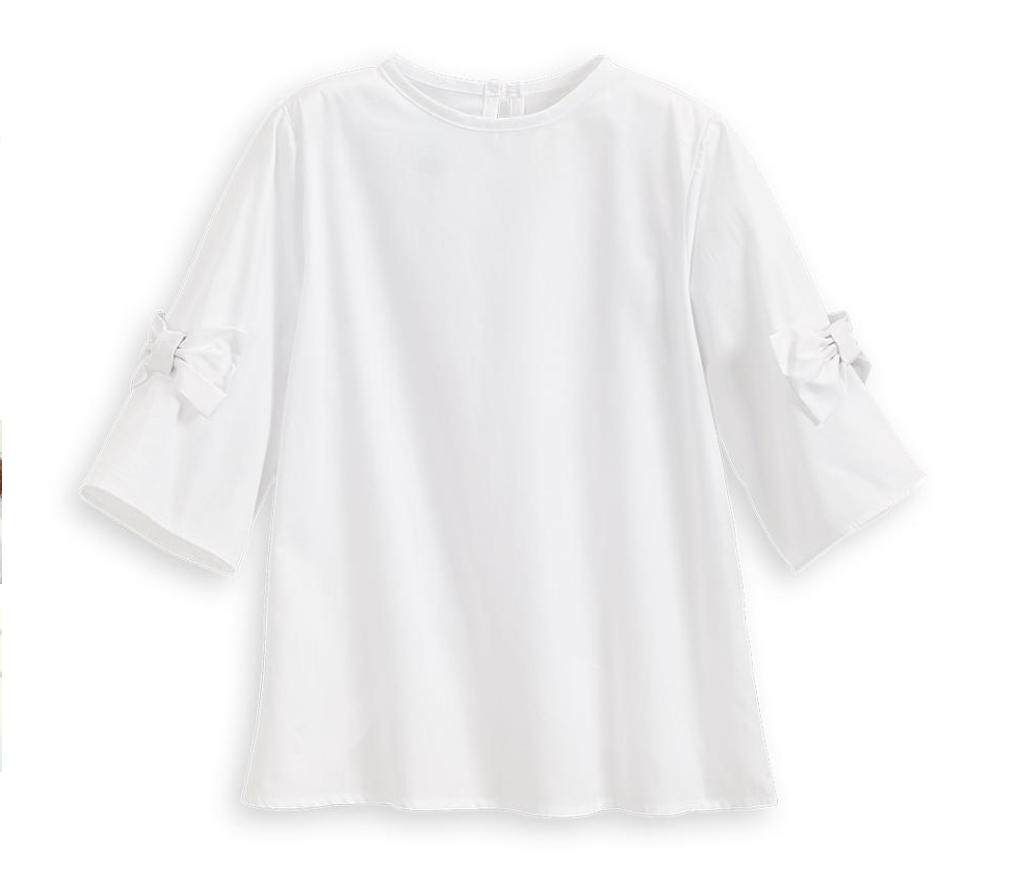 Bella Bliss Tinsley Blouse- White