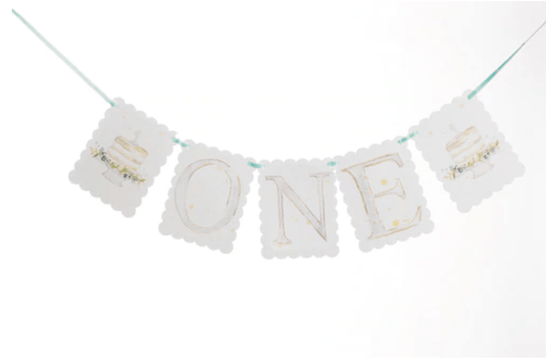 Over the Moon Gift One High Chair Banner