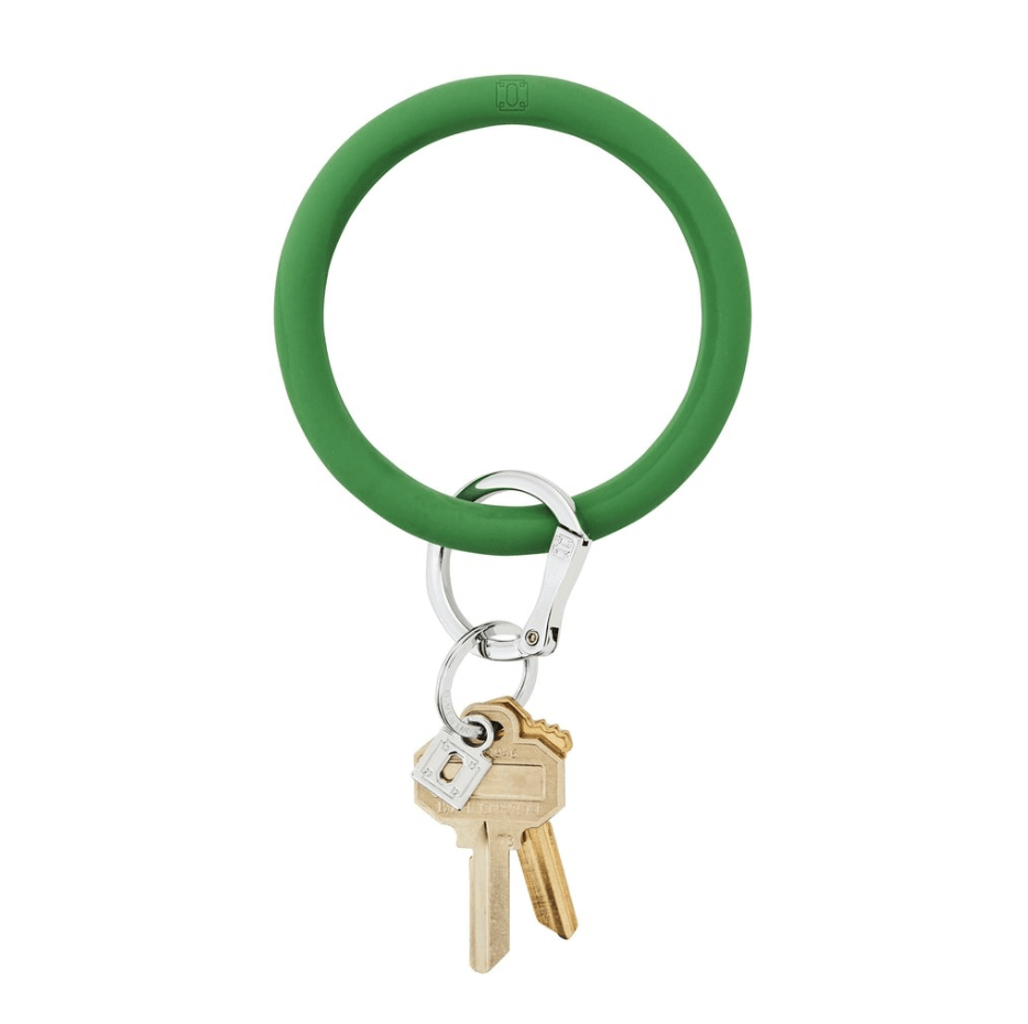 O-venture shamrOck silicOne Big O Key Ring