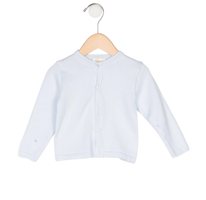 Renzo Basic Cardigan - Blue