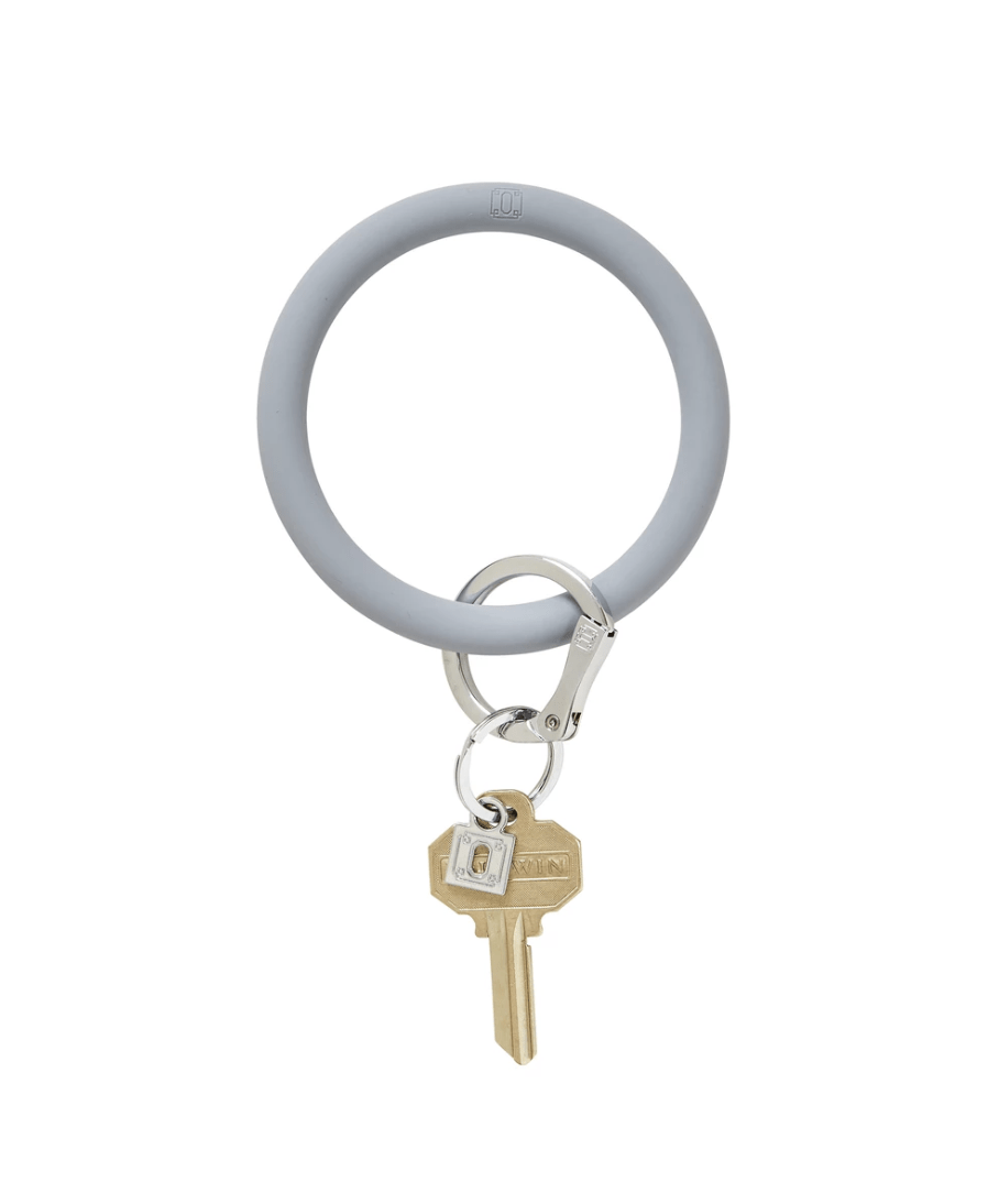O-venture lOndOn fOg silicOne Big O Key Ring