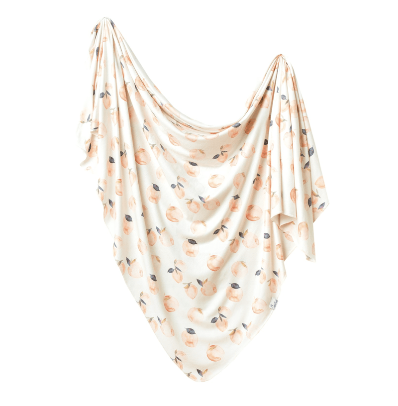 Copper Pearl Caroline Knit Blanket