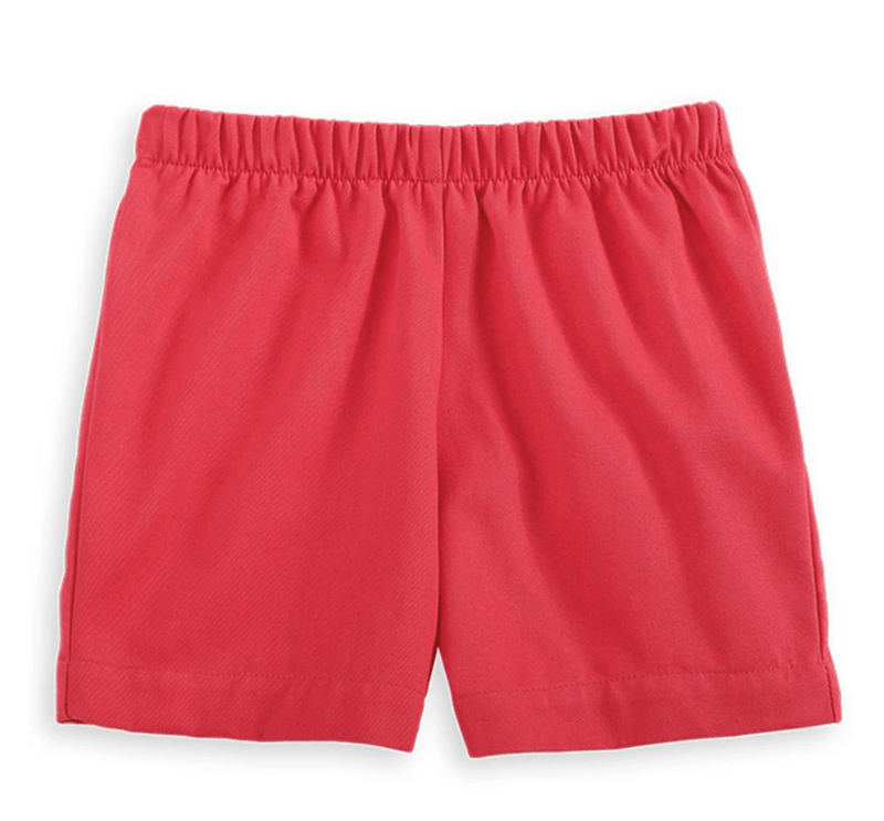 Bella Bliss Boy's Play Shorts - Red