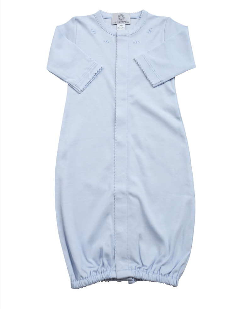 The Proper Peony Blue Pima Converter Gown