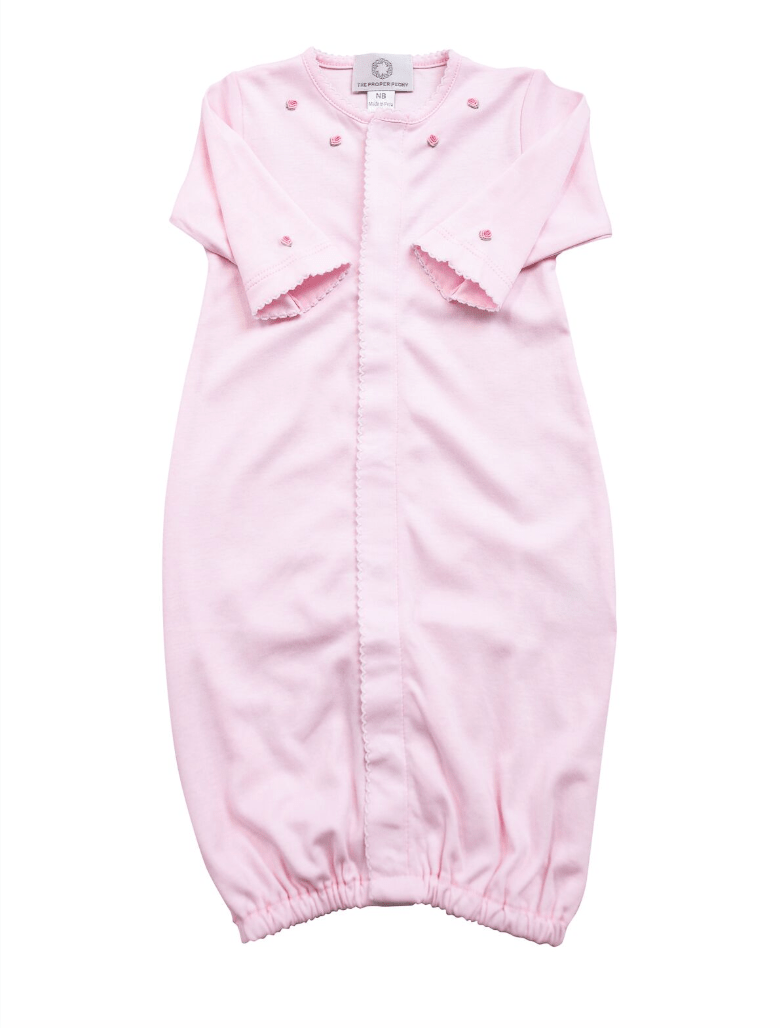 The Proper Peony Pink Pima Converter Gown