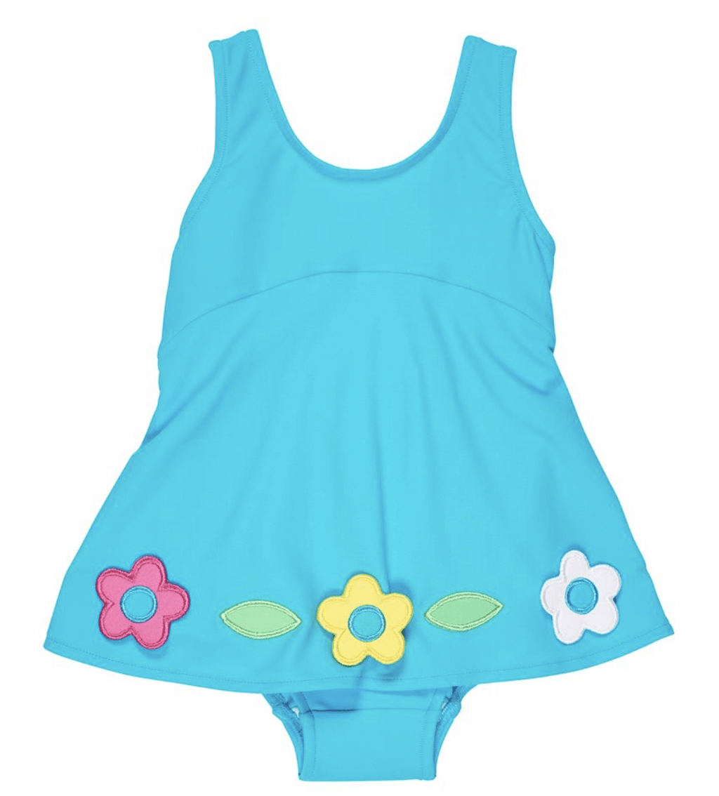 Florence Eiseman Baby Swimsuit with Overskirt