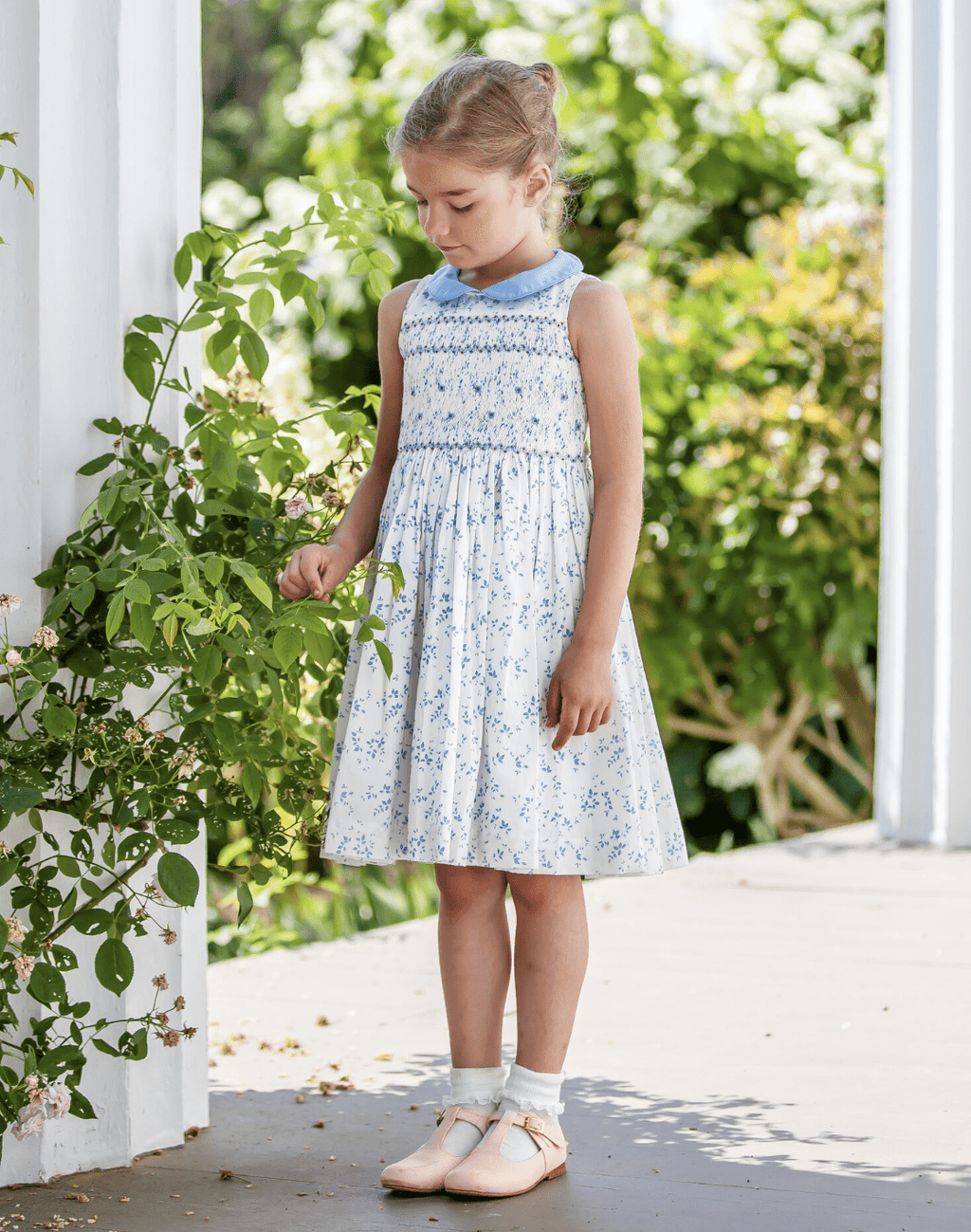 Antoinette Paris Flora Jardin Dress - Blue