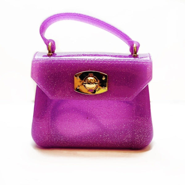 Amiana Jelly Bag - Purple Metallic