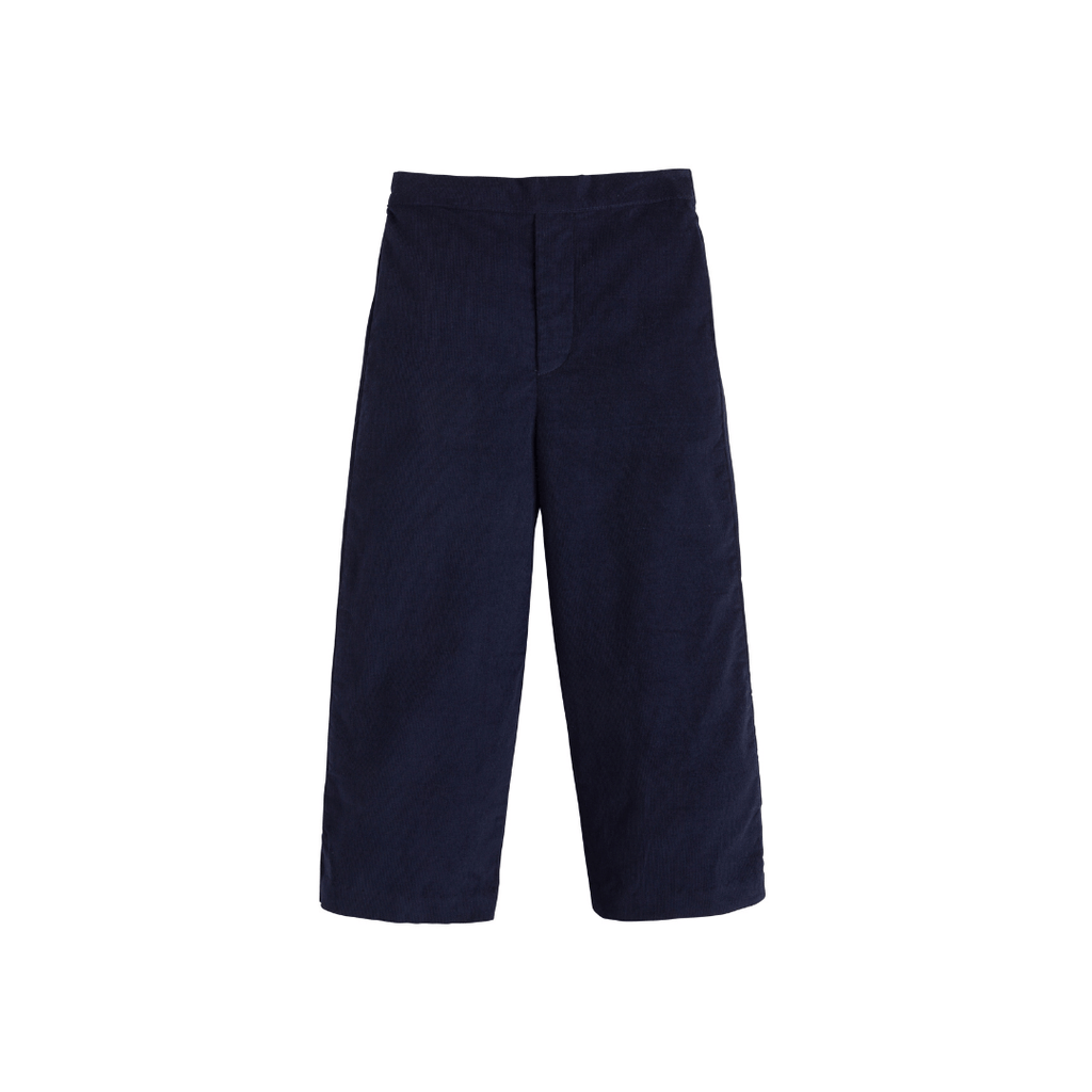 Little English Pull On Pants- Navy Corduroy Delivery 5