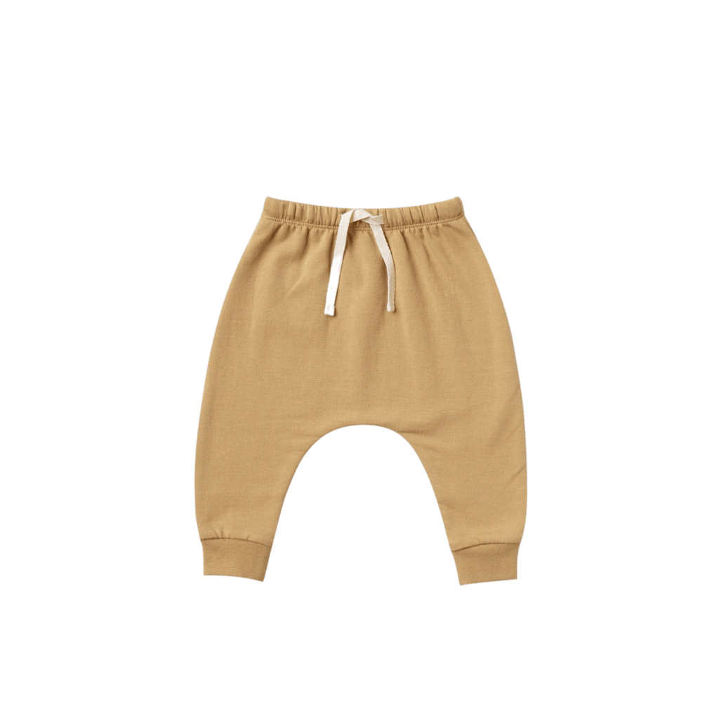 Quincy Mae Organic Fleece Sweatpants - Honey