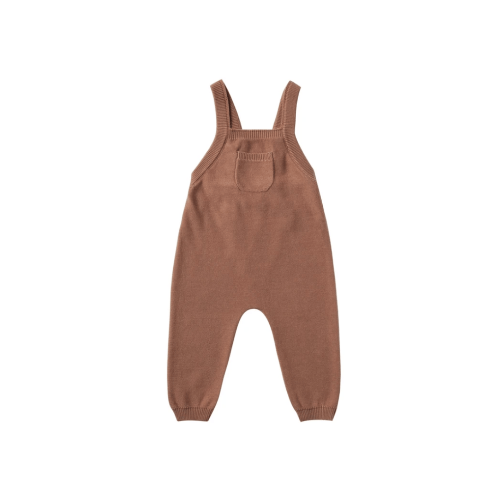 Quincy Mae Knit Overall Organic Sweater Knit - Clay