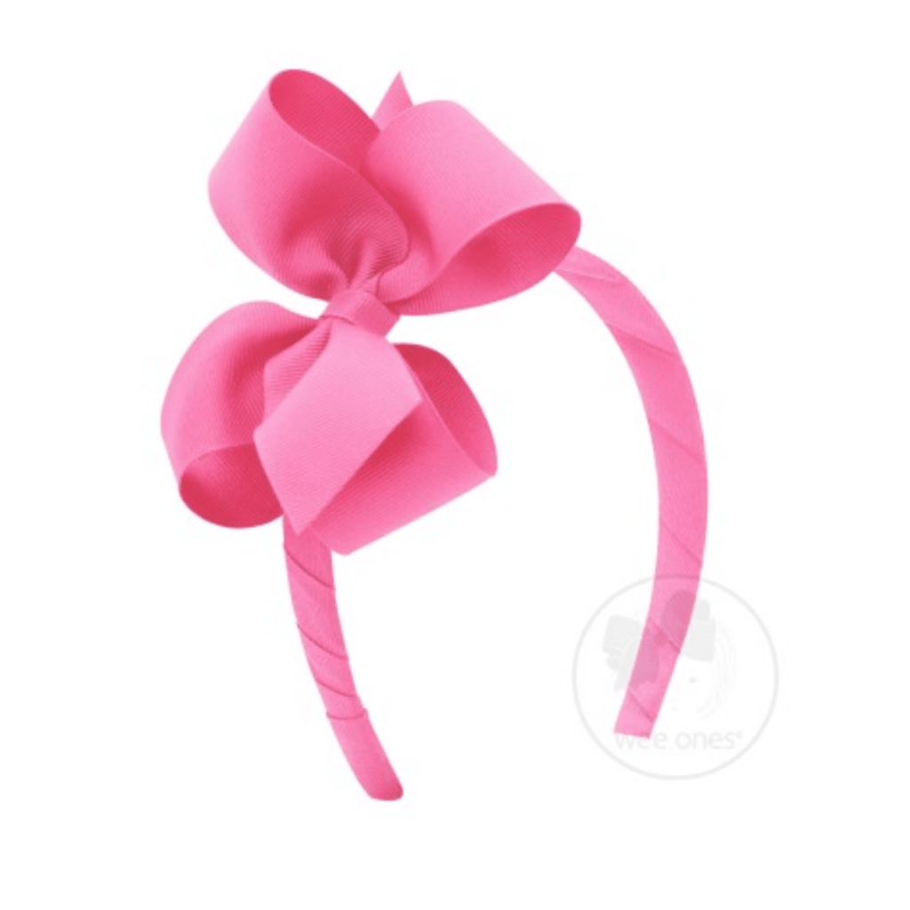 Wee Ones Large Bow Headband - Multiple Colors!