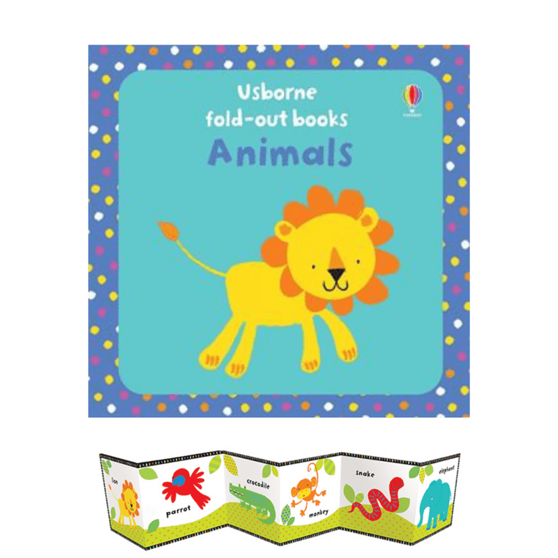 Fold Out Animals Book