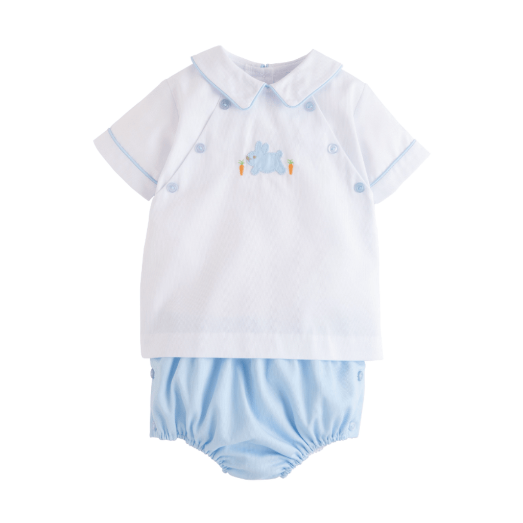 Little English Walker Diaper Set- Bunny