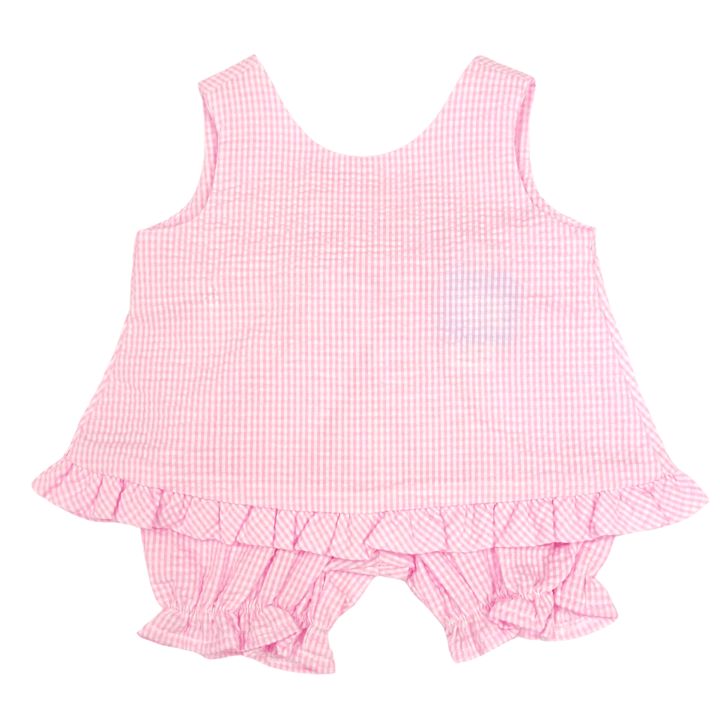 Funtasia Too Popover Set - Pink Seersucker